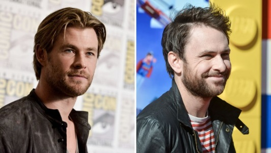 chris hemsworth charlie day vacation